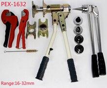 Бесплатная доставка Труб Зажима Инструмента Место инструмент PEX-1632 Диапазон 16-32 мм используется для REHAU Фурнитура хорошо принят Rehau сантехника Инструмент