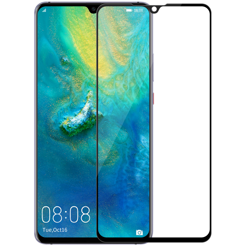 124c10f3b3a Para Huawei mate 20 X de NILLKIN increíble 3D CP + MAX cobertura completa  Anti-explosión 9 H protector de pantalla de vidrio templado