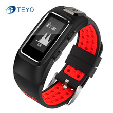 Teyo Sport Smart Band DB10 Heart Rate Monitor Thermometer with GPS Smart Bracelet Watch Waterproof Samrtband for Android IOS