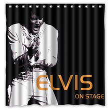 72x72 Waterproof Shower Curtain Bathroom Elvis Presley Eco Friendly Bath Curtains