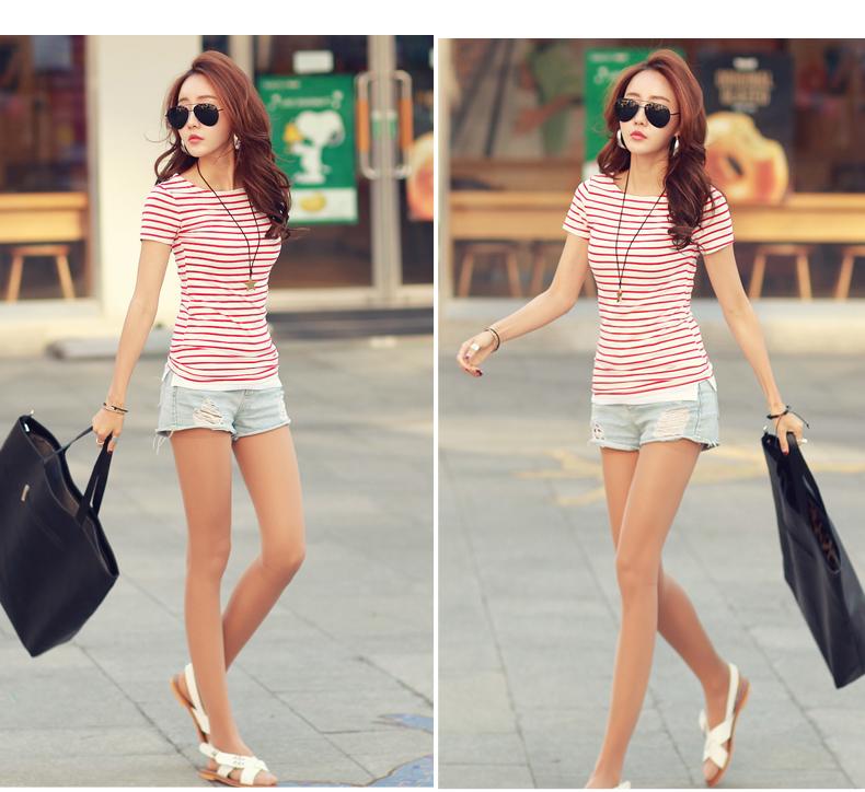 HTB1ZRiaPVXXXXb0XpXXq6xXFXXXy - Volocean Summer Casual T-shirts For Women Classic Cotton