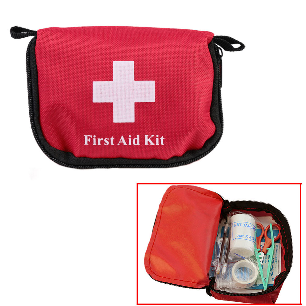 Mini Kit de Primeros Auxilios Al Aire Libre Que Acampan Yendo de Supervivencia e