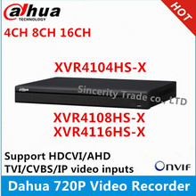 Dahua XVR видеорегистратор XVR4104HS-X 4ch& XVR4108HS-X 8ch& XVR4116HS-X 16ch 1720P Поддержка HDCVI/AHD/TVI/CVBS/ip-камера