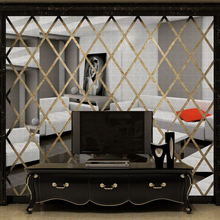 DIY acrylic mirror wall sticker house Decoration 3D Wall Decals for Living Room Home Decor