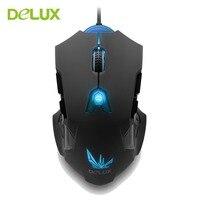 デラックスM811LU usb有線ゲーミングレーザーマウス8200 dpi 8ボタン人間工学療マウスで6色バックライト用ゲームpcラップトップ