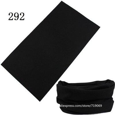 280-300  100% Polyester Microfiber Tubular Multifunction Motorcycle Scarf Headband Seamless Tube Bandanas Solid Bandanas
