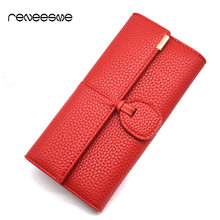 New Design Leather font b Wallets b font font b Women b font Luxury Brand Purses