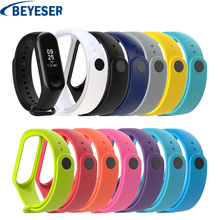 Soft Band for Xiaomi Mi 3 Sport Strap Bracelet watch Silicone wrist strap For xiaomi mi band3 accessories bracelet Miband