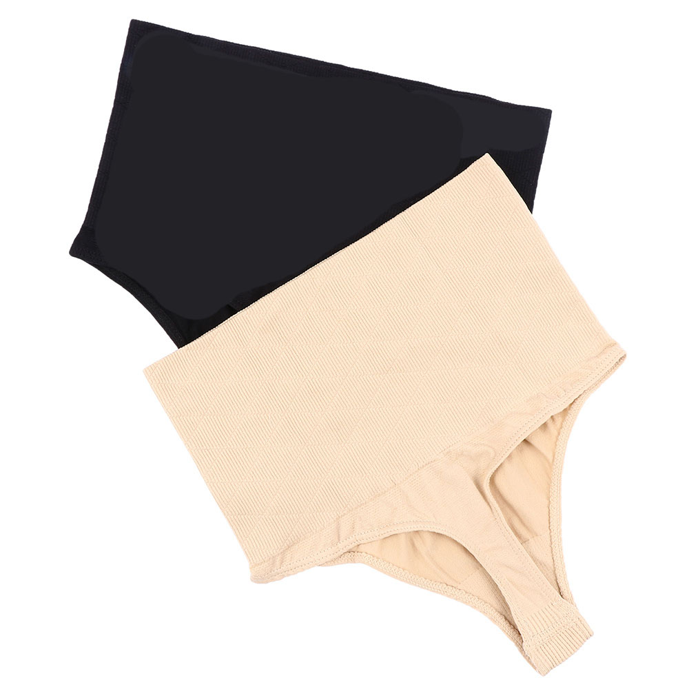 d3568302ea0 Detail Feedback Questions about 1pc Women Spandex Underwear Nude High Waist  Brief Tummy Slimming Control Bodyshaper Thong G string Butt Lifter Seamless  ...