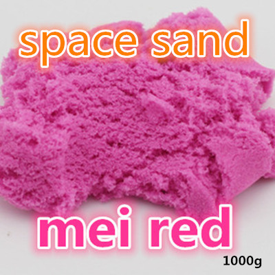 Free shippin 1000G dynamic Amazing DIY educational toy No-mess Indoor Magic Play Sand Children toys Mars space sand free shippin 1000g dynamic amazing diy educational toy no mess indoor magic play sand children toys mars space sand