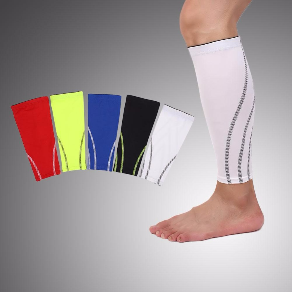 Sports Calf Leg Sock Compression Health Care Sleeves Brace Basketball
