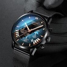DIZIZID Brand Limited Luxury Business Mens Watch Casual Quartz Special Ultra-thin Three-eye Send Lovers