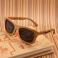 Bobo bird marca polarizadas gafas de sol de las mujeres de la vendimia hecha a mano de madera de bambú gafas de sol new eyewear con oculos masculino regalo