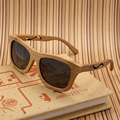 Bobo pássaro marca polarizada óculos de sol das mulheres do vintage feitos à mão óculos de sol de madeira de bambu new óculos com dom oculos masculino