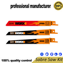 купить worx WA8007 reciprocating saw blade for steel pipe cutting for wood tree branch cutting at good price and fast delivery по цене 1498.02 рублей