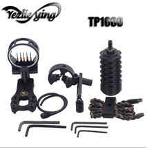 Bow Sight Kits TP1000 Arrow Rest five-Needle Aiming Stabilizer and Accessories Set Composite Archery