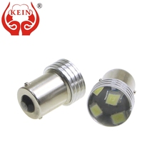 цена на KEIN 6PCS P21W 1156 led ba15s 2835 6smd 1156 led bulb car auto reverse DRL tail turn signal parking brake backup lights lamp 12V