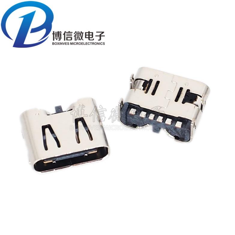 typec in micro usb footprint female connectors