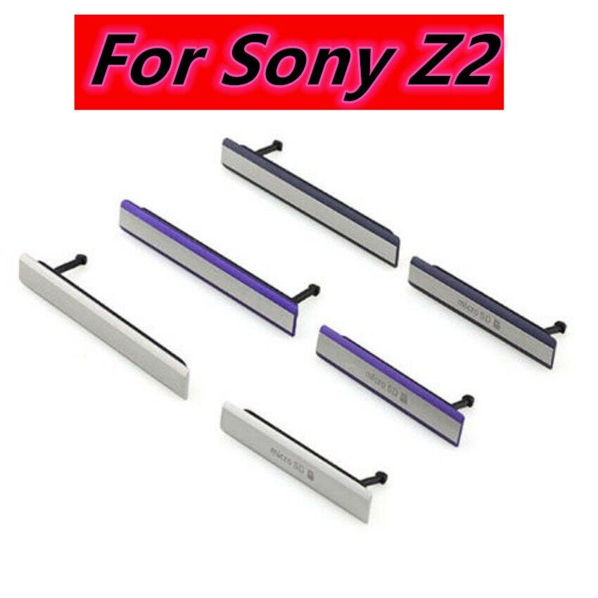 Чехол-пылезащитный для Sony Xperia Z2 L50W D6503 D6502 D6543, с разъемом для Micro SD USB + SIM-карты