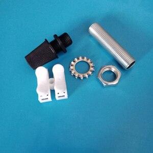 20 pcs/lot câble électrique connecteur lumière à assembler soi-même prise raccord lampe dent Tube, écrou à vis