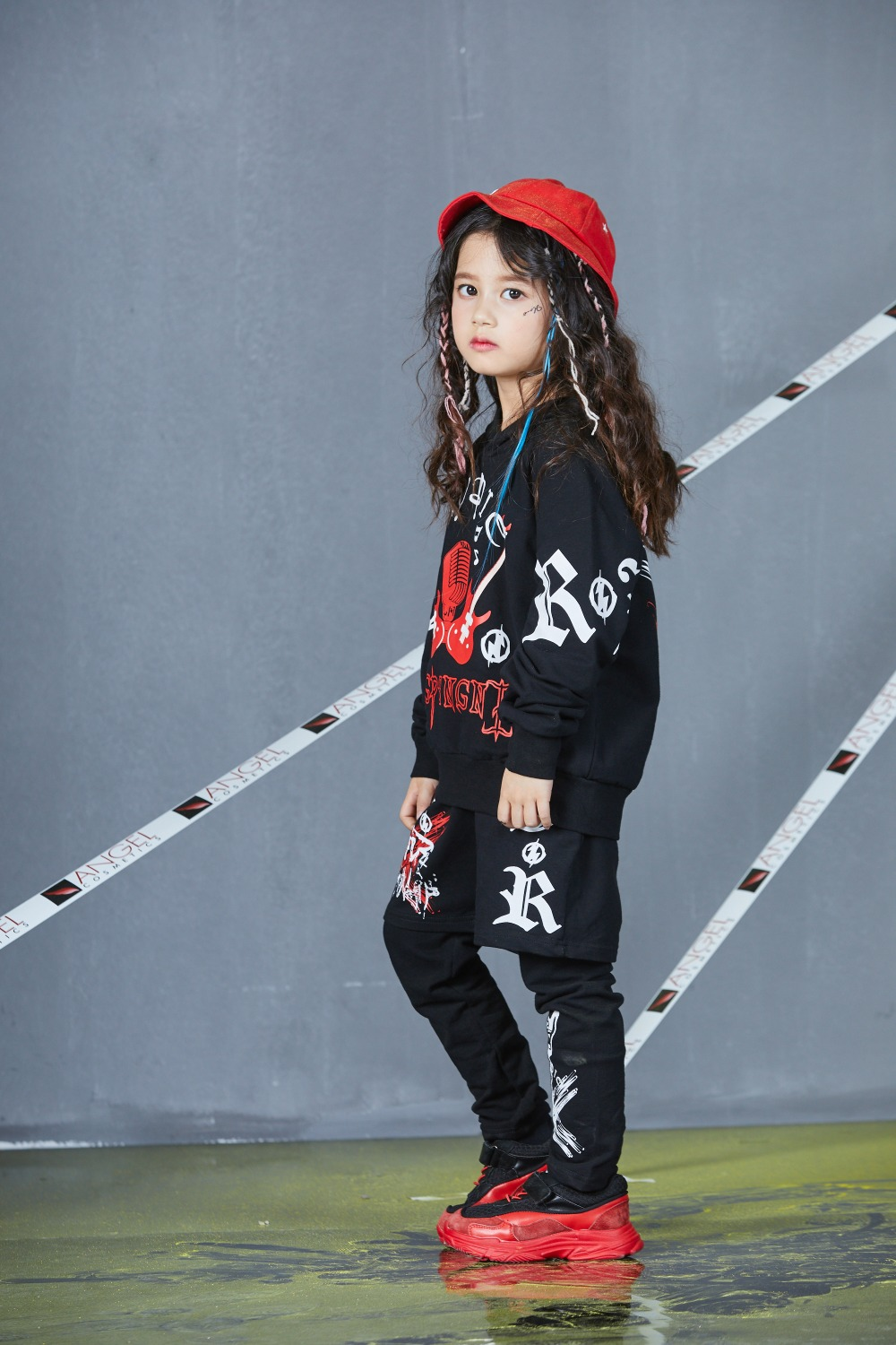 Autumn Spring Kids Street Dance Clothes Sets Fashion Hip Hop Clothing 2019 Brand High Quality Sport Suit for Teenage Boys Girl (27)