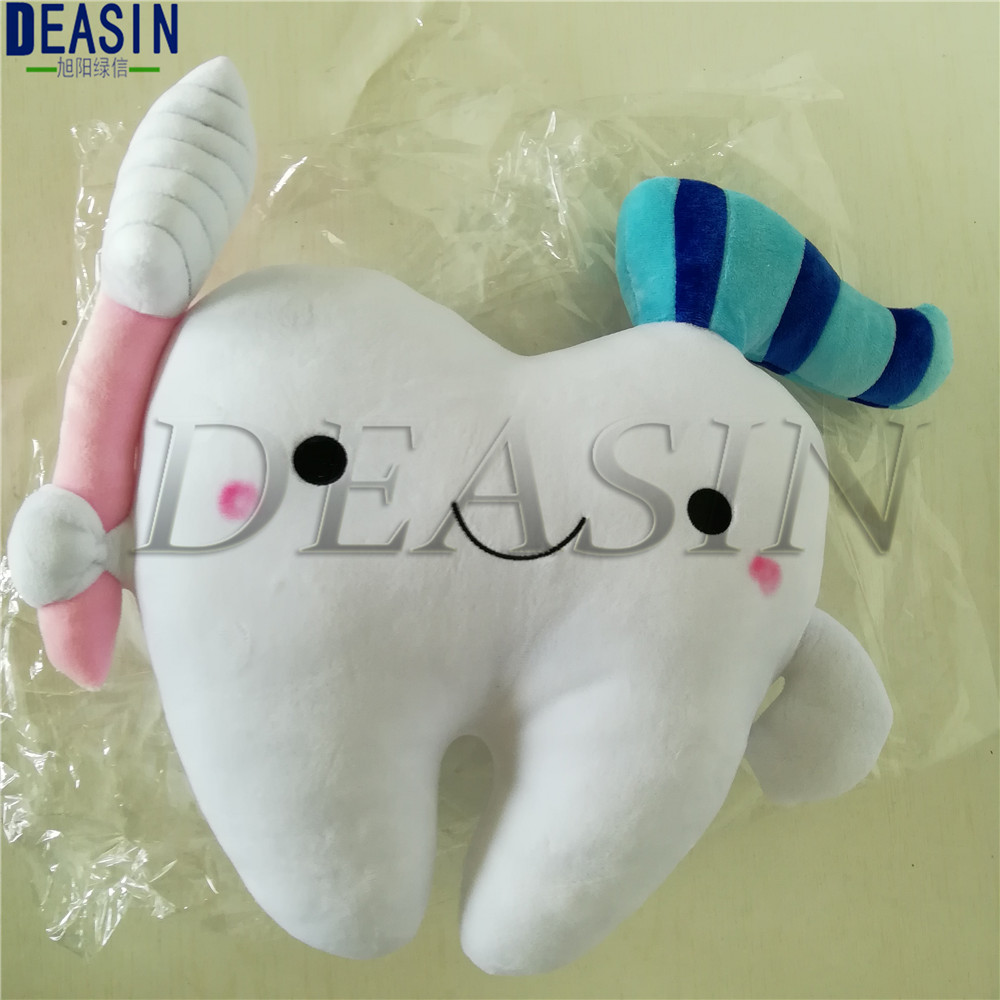 1 Pcs Dental Gift Teeth Shape Bolster Big Tooth Pillow Creative Fashion Cartoon Pillow Cushions Appease Accompany Sleep Doll
