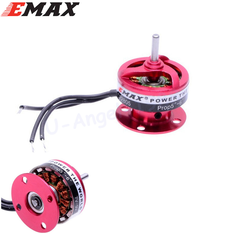 4pcs/lot EMAX CF2805 2840KV Outrunner Motor For Rc Airplane ACNU