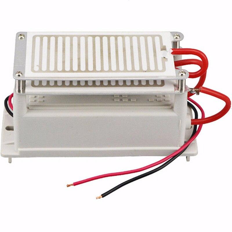 New 110V 220V Ozone Generator 16g Double Ceramic Plate Integrated Sterilizer Air Ozonizer Safe Quiet Efficient