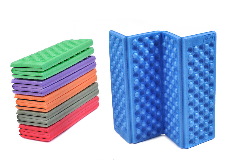 Camp mattress Portable Waterproof Chair Picnic Mat Pad Foldable Folding Outdoor Camping Mat thermarest Seat Foam 6 Colors