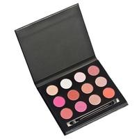 YOST HUAMIANLI 1 Box 12 Colors Fashion Shimmer Eyeshadow Earth Color Bare Makeup Contour Palette Makeup