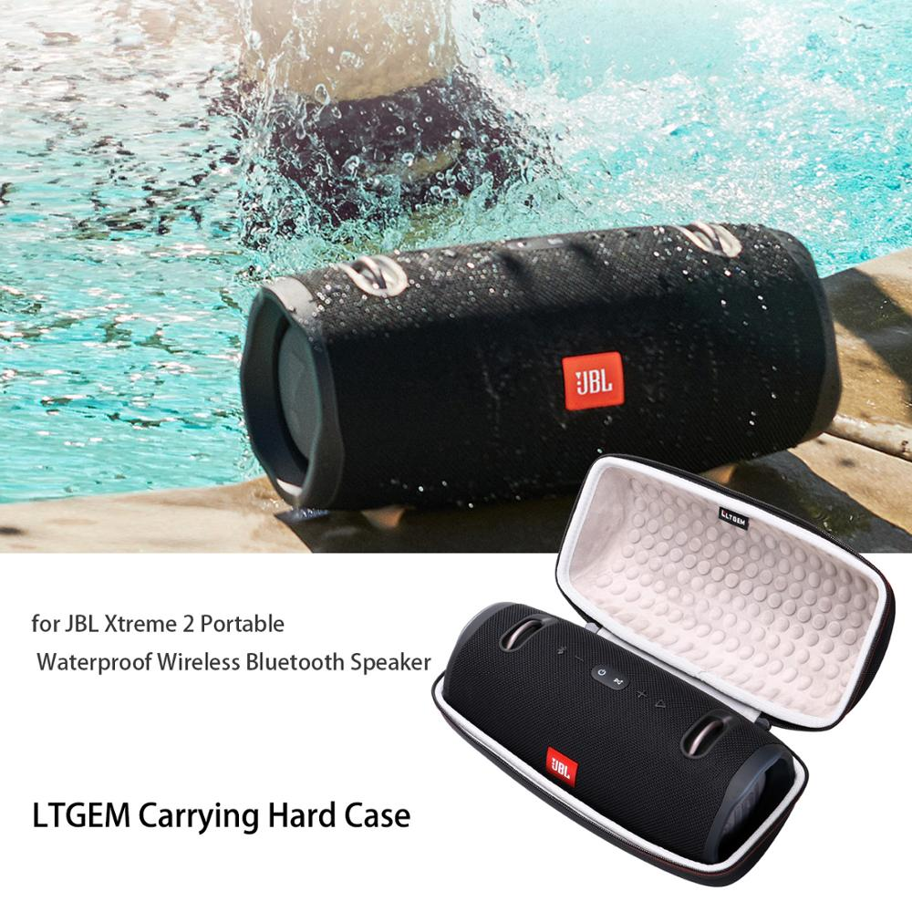 LTGEM EVA Hard Case For JBL Xtreme 2 Portable Waterproof Wireless Bluetooth Speaker - Travel Protective Carrying Storage Bag