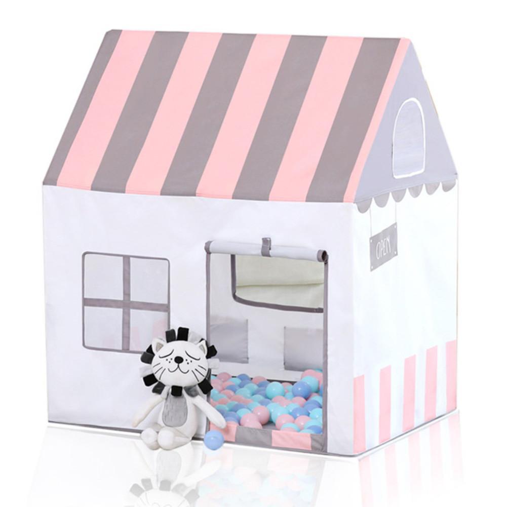 Pêche daim peinture à l'huile enfants princesse tente intérieure Marine jeu de balle jouet maison pliante petite tente pliante pour enfants
