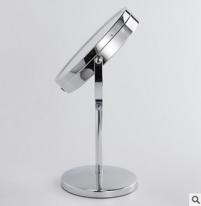 SpringQuan 7 Inch LED Double Sides Cosmeticaspiegel 1 / 3X Zoom tafel - Huidverzorgingstools - Foto 3
