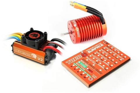 Skyrc Leopard 3300KV/12T/2P Brushless Motor + Leopard 60A ESC + Program Card Combo Set For 1/10 Car-in Parts & Accessories from Toys & Hobbies    1