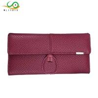 MLITDIS Brand Women Wallets PU Leather Long Leather Women Clutch Bag Hasp Zipper Wallet Card Holders
