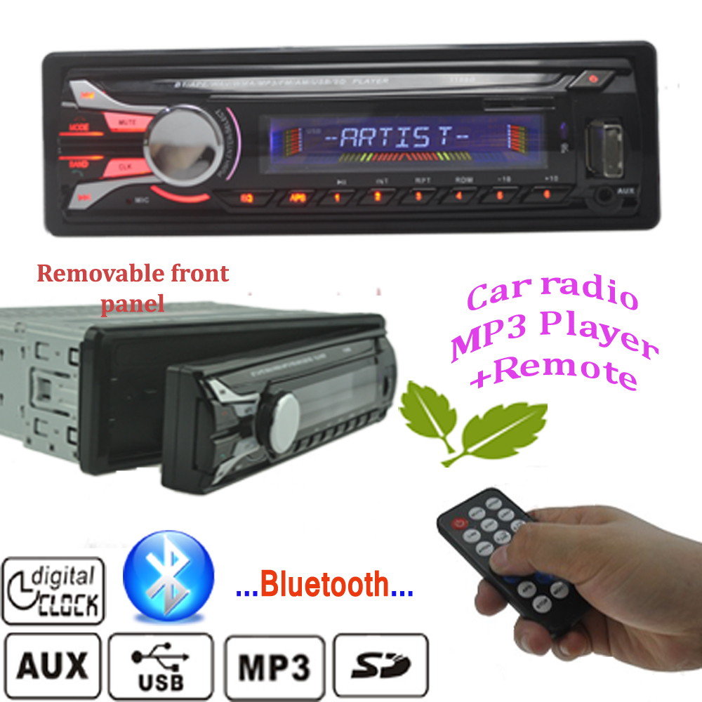 2015 Car Radio Stereo Player Bluetooth AUX MP3/APE/FLAC