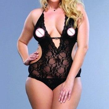 Women Lingerie Erotic Bodysuit INTIMATES Plus Size
