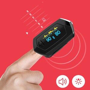 Image 4 - Yomker רפואי ספורט אצבע דופק Oximeter oximeter הנייד בזמן אמת נתונים ספורט דם חמצן הרוויה נטענת SPO2