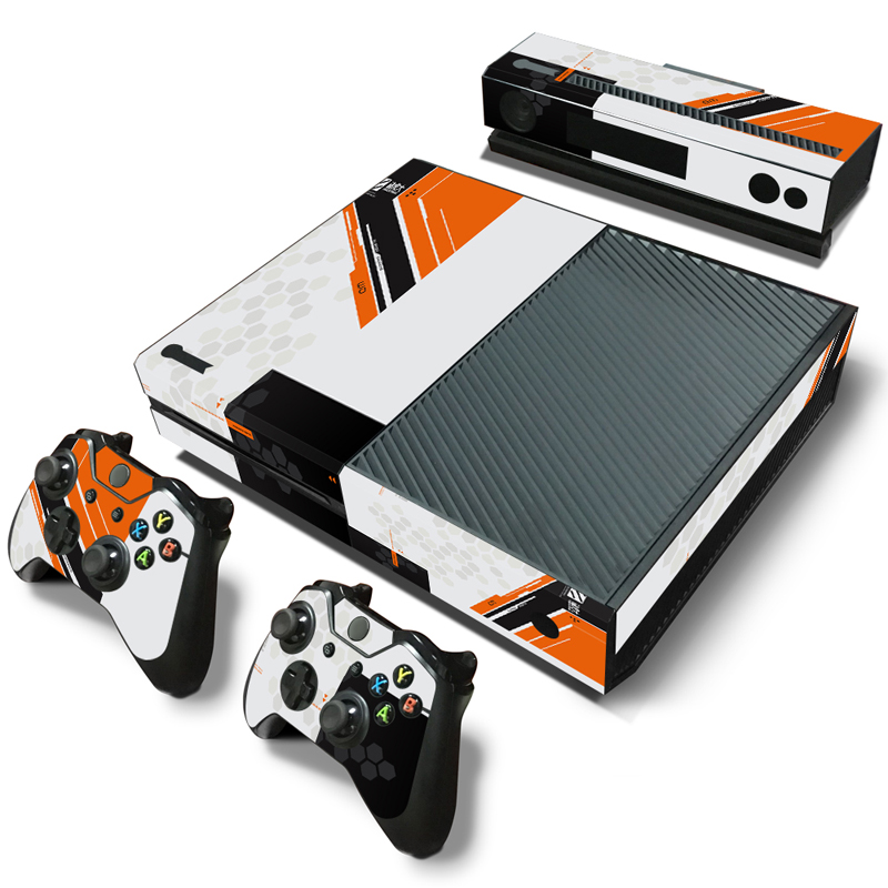Cover Skins Sticker Decals Controllers Microsoft Titanfall-Design Xbox-One Console Vinyl title=