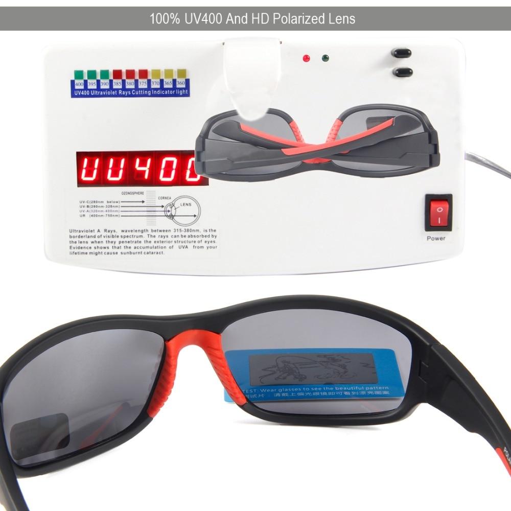 e87c947763 QUESHARK UV400 hombres polarizadas pesca gafas de sol pescador Camping  senderismo esquí gafas ciclismo bicicleta gafas deporte pesca gafas en Gafas  de pesca ...