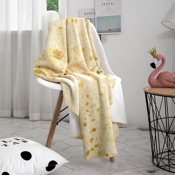 Burrito Throw Blanket 1