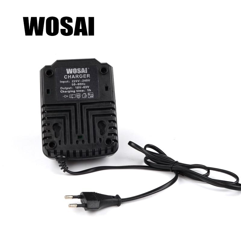 WOSAI 20V elektritööriistade liitiumpatareide laadija adapter - Elektritööriistade tarvikud - Foto 2