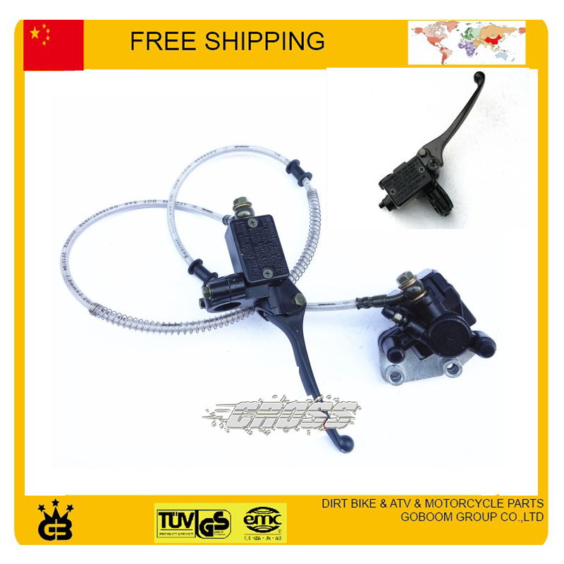 ФОТО Front Hydraulic disc brake assy brake level master cylinder kayo taotao xmotos orion bse dirt pit mokey bike CRF50 free shipping