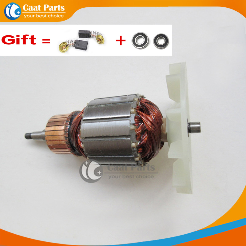 Makita 9404 spare parts scheme - AC 220-240V Drive Shaft Electric Abrasive belt Sander Armature Rotor for Makita 9404 9920 9903 9902 , High-quality!