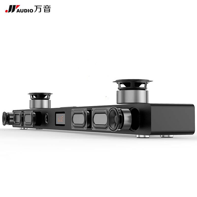JY AUDIO A9 HIFI Bluetooth Sound Bar 5.1 Home Theater Surround System Wooden Soundbar Speaker for TV Woofer Wireless Wall Cinema стоимость