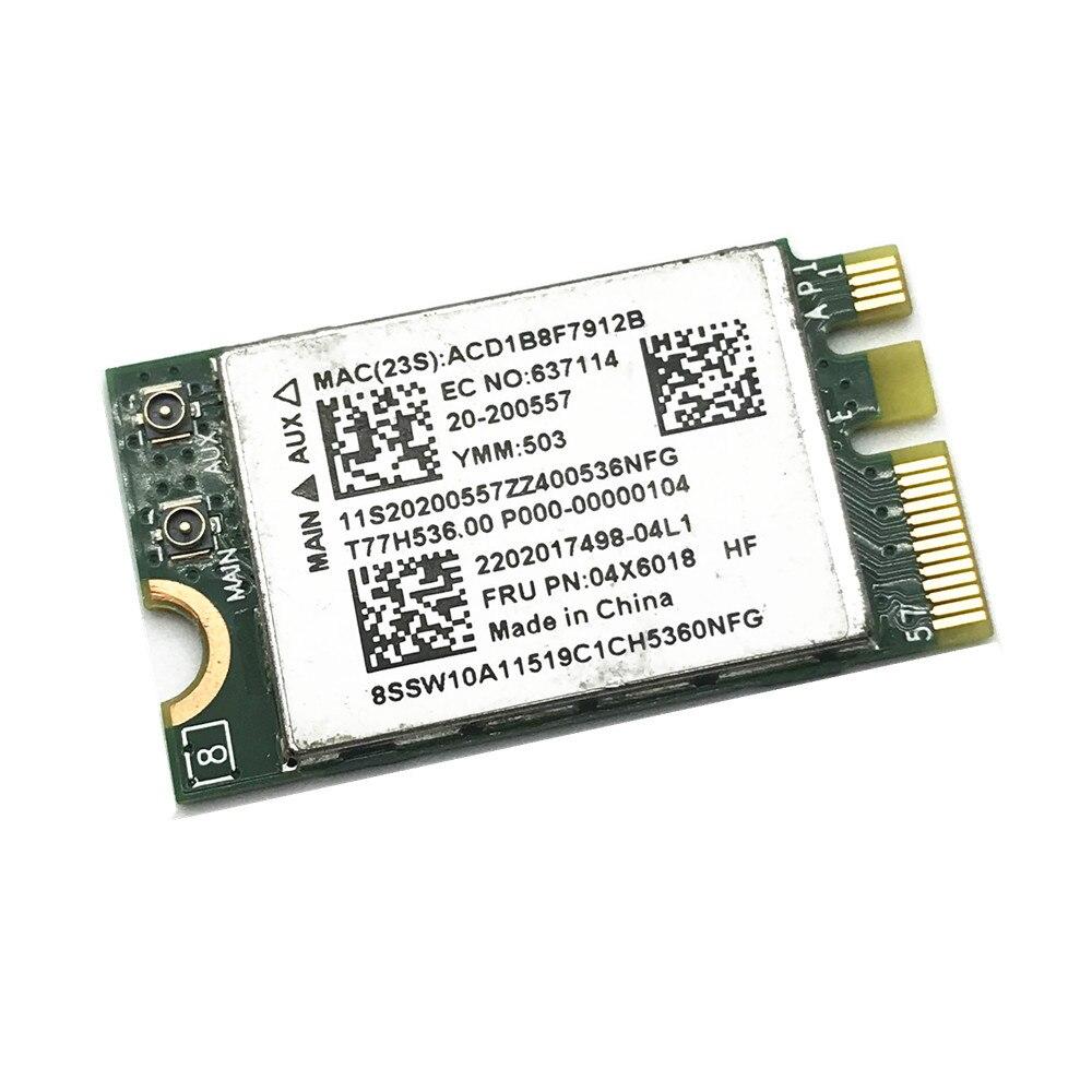 Broadcom BCM943142Y NGFF WiFi Bluetooth 4.0 802.11b/g/n Wireless Card For LENOVO G50-30 G50-45 G50-70 FRU 04X6018