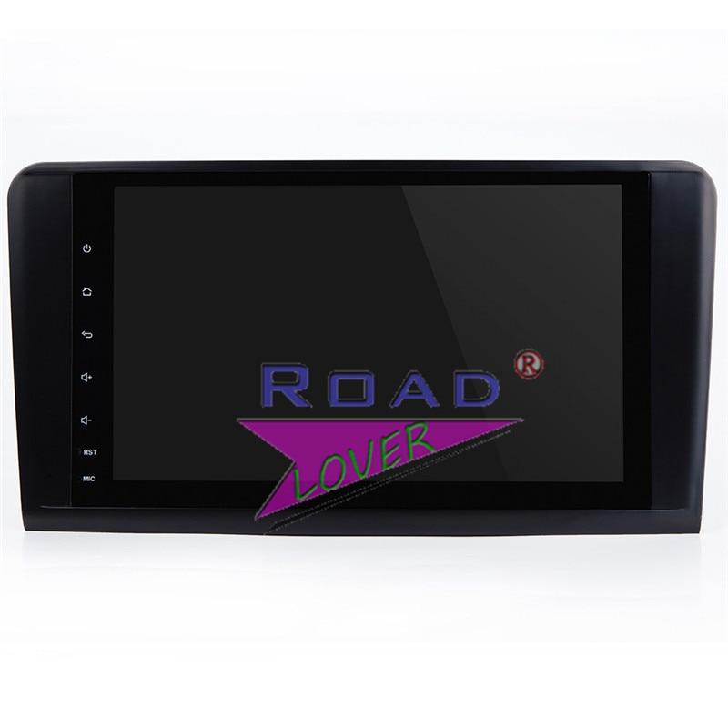 Lecteur de Navigation GPS de voiture TOPNAVI Android 7.1 pour Mercedes Benz ML classe W164 ML350 ML430 ML450 ML500 GL320/r-class W219 stéréo - 2