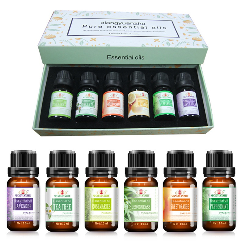 100% Pure Compound Essential Oils Fragrance for Body Massage Bath Aromatherapy D
