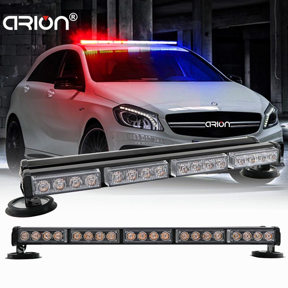 Double Side 18 31 35 5 LED Traffic Advisor Car Truck Emergency Flashing Strobe Warning Light