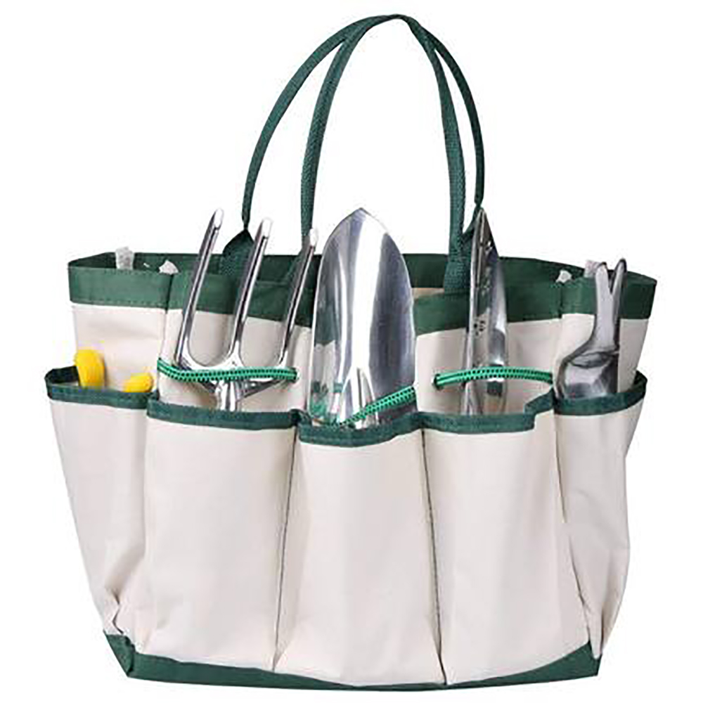Oxford Cloth Garden Tool Bag Garden Repair Tools Hardware Electric Bucket Tool Storage Bag Pouch Pockets